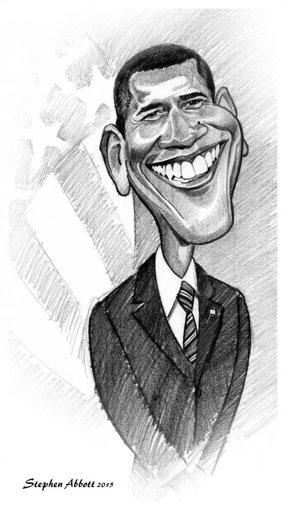 Barack Obama by Henstepbatbot
